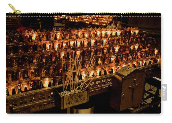 Candle Offerings St. Patrick Cathedral Carry-all Pouch