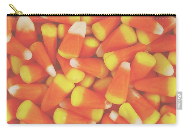 Candy Corn Square- By Linda Woods Carry-all Pouch