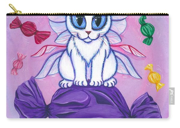 Candy Fairy Cat, Hard Candy Carry-all Pouch