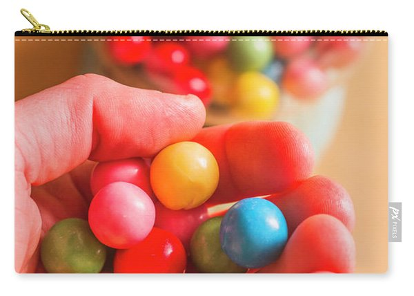 Candy Hand At Lolly Store Carry-all Pouch