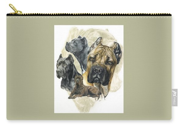 Cane Corso Medley Carry-all Pouch