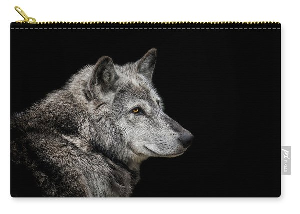 Canis Lupus Carry-all Pouch