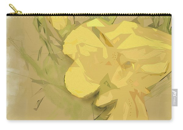 Carry-all Pouch featuring the photograph Canna by Gina Harrison