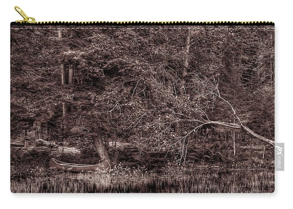 Canoe In The Adirondacks Carry-all Pouch