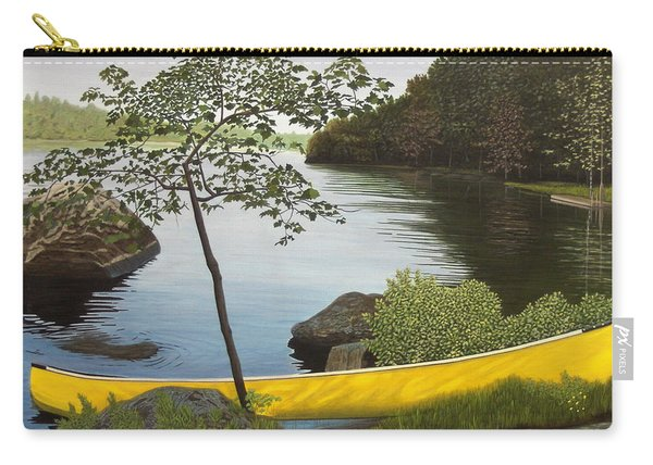 Canoe On The Bay Carry-all Pouch