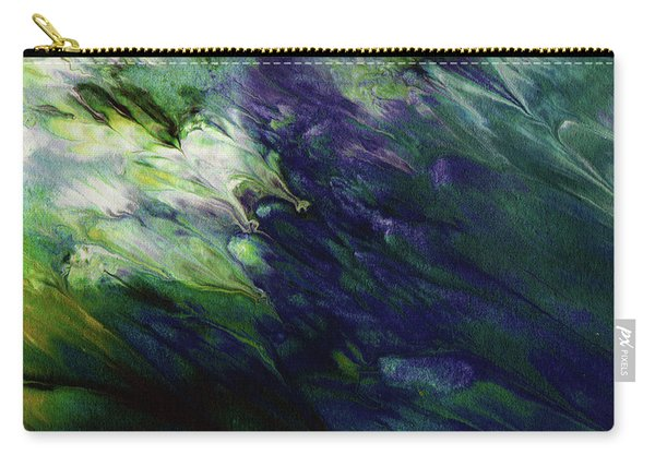 Canopy 3- Art By Linda Woods Carry-all Pouch