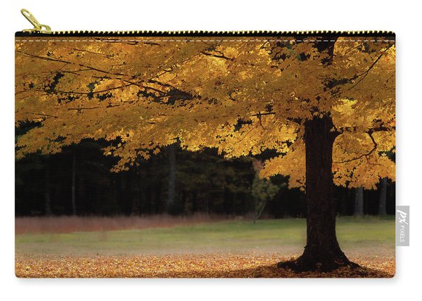 Canopy Of Autumn Gold Carry-all Pouch