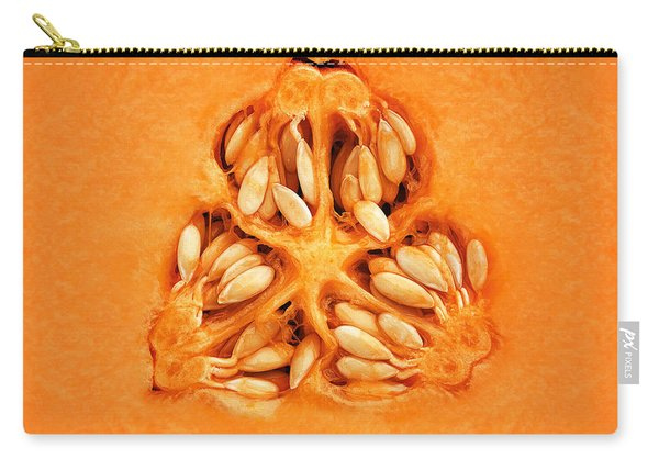 Cantaloupe Melon Inside Carry-all Pouch