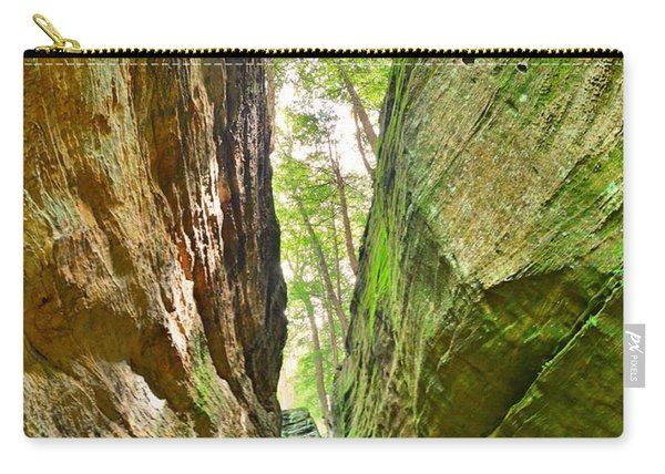 Cantwell Cliffs Trail Hocking Hills Ohio Carry-all Pouch