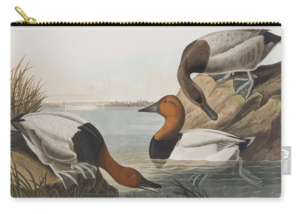 Canvas Backed Duck Carry-all Pouch