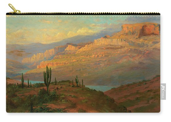 Canyon In Arizona Carry-all Pouch