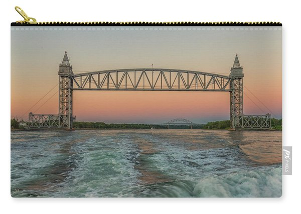 Cape Cod Canal Railroad Bridge Sunset Carry-all Pouch