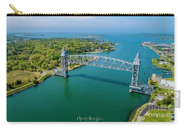 Cape Cod Canal Railroad Carry-all Pouch