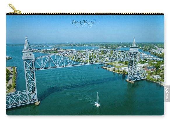Cape Cod Canal Suspension Bridge Carry-all Pouch