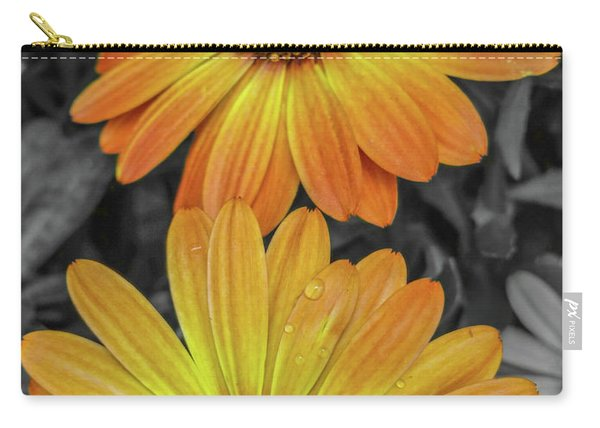 Cape Daisy's - Orange Carry-all Pouch