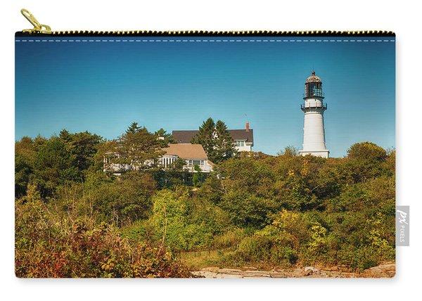 Cape Elizabeth Lighthouse Carry-all Pouch