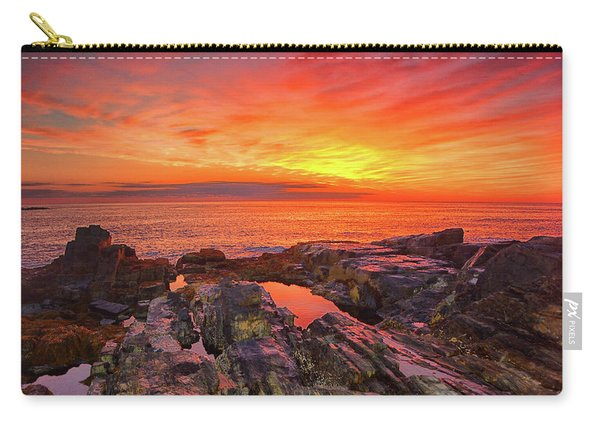Cape Neddick Sunrise Carry-all Pouch