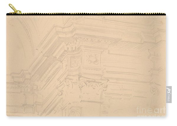 Capilla Real Entablature, Granada Carry-all Pouch