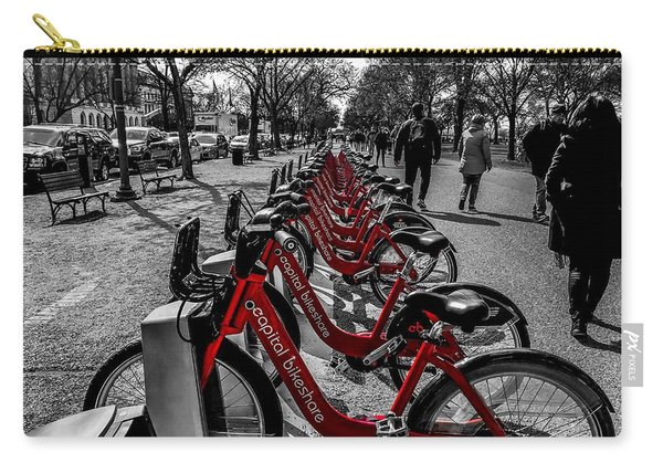 Capital Bikeshare Carry-all Pouch
