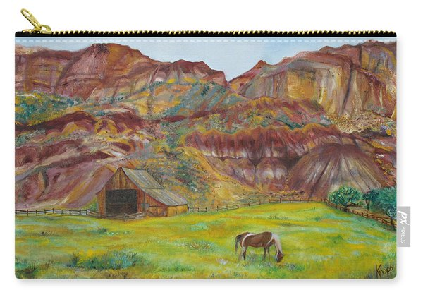 Capital Reef Pasture Carry-all Pouch