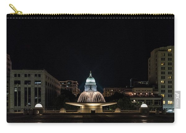 Capitol And Fountain Carry-all Pouch