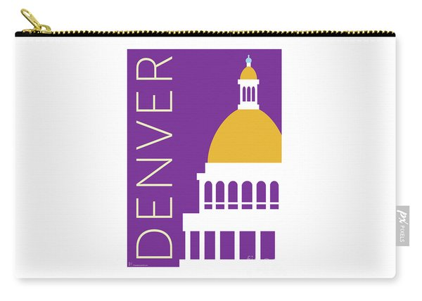 Denver Capitol/purple Carry-all Pouch