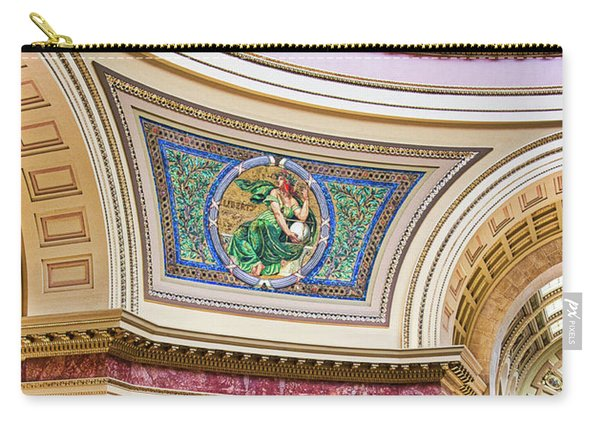 Capitol Rotunda -madison - Wisconsin Carry-all Pouch