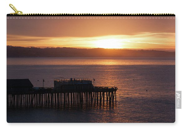 Capitola Day Begins Carry-all Pouch