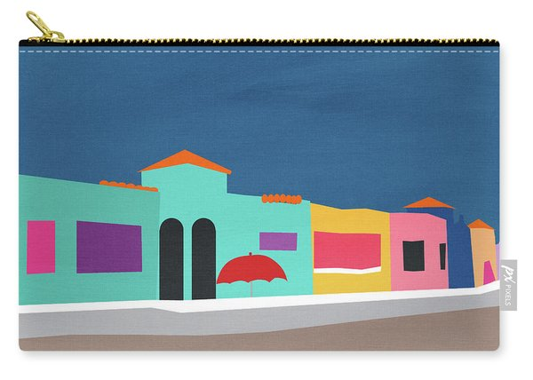 Capitola Venetian- Art By Linda Woods Carry-all Pouch