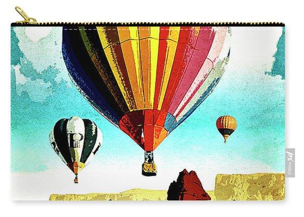 Cappadocia, Turkey, Hot Air Balloons Carry-all Pouch