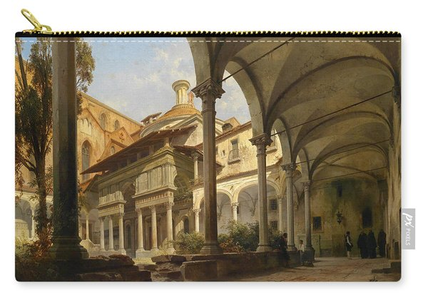 Cappella De'pazzi At The Church Of Santa Croce In Florence Carry-all Pouch