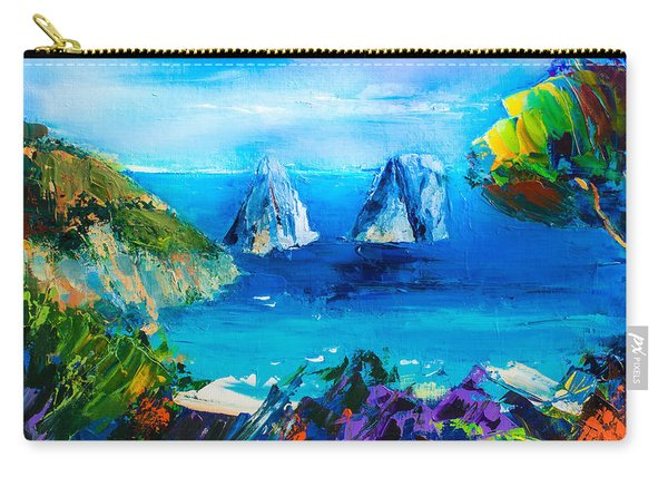 Capri Colors Carry-all Pouch