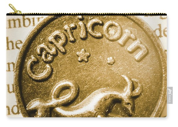 Capricorn Zodiac Lucky Charm Carry-all Pouch