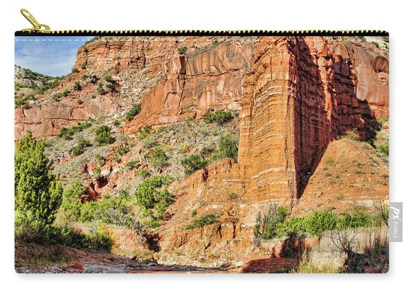 Caprock Canyon Cliff Carry-all Pouch