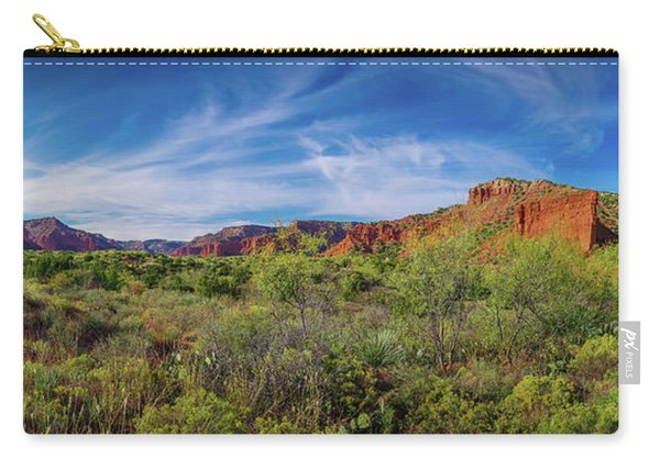 Caprock Canyon Panorama 2 Carry-all Pouch