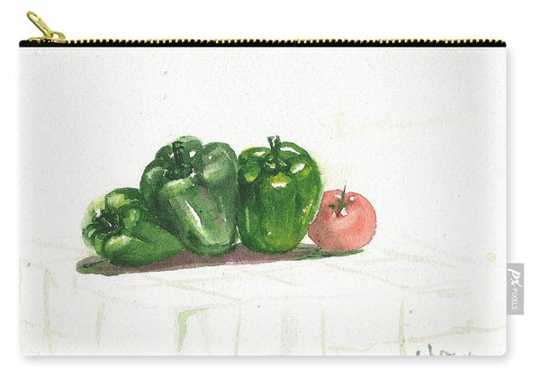 Capsicum Still Life Carry-all Pouch