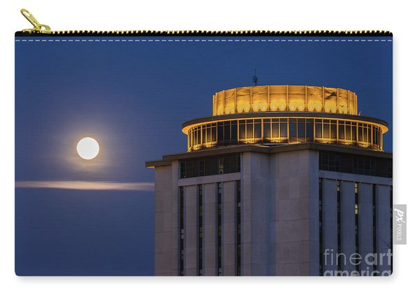 Capstone House And Full Moon Carry-all Pouch