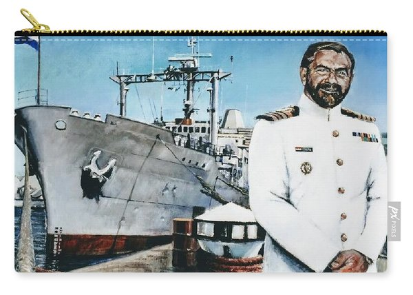 Capt Eric Green Carry-all Pouch