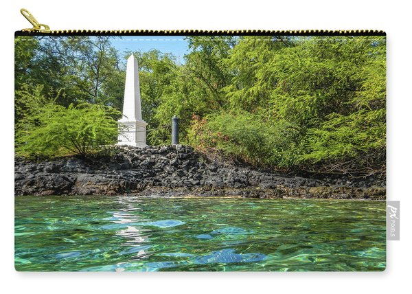 Captain Cook Monument Carry-all Pouch