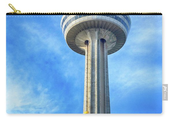 Car On Skylon Tower Carry-all Pouch