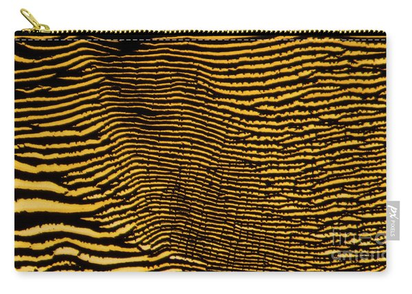 Interlaced Lines Carry-all Pouch