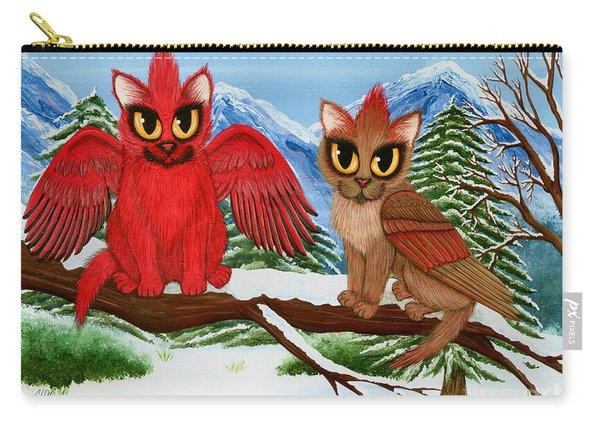Cardinal Cats Carry-all Pouch