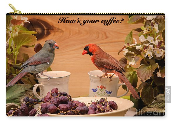 Cardinal Coffee Carry-all Pouch