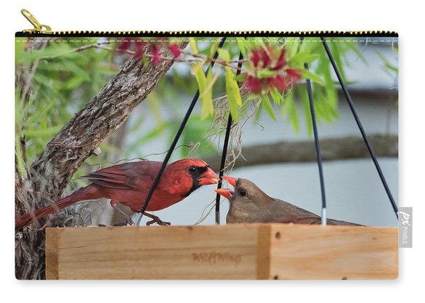 Cardinal Feeding  Carry-all Pouch