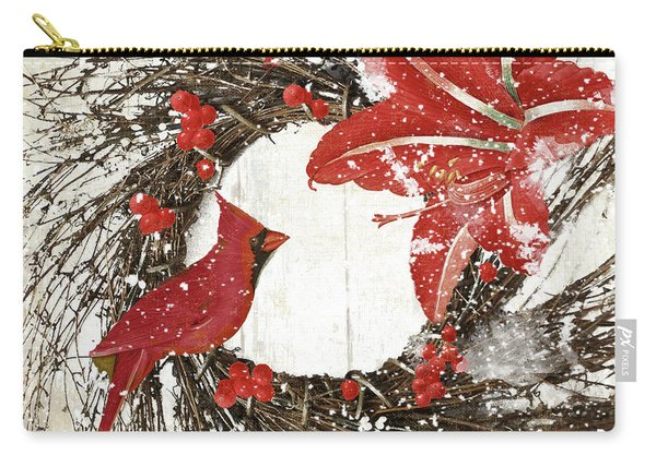 Cardinal Holiday I Carry-all Pouch