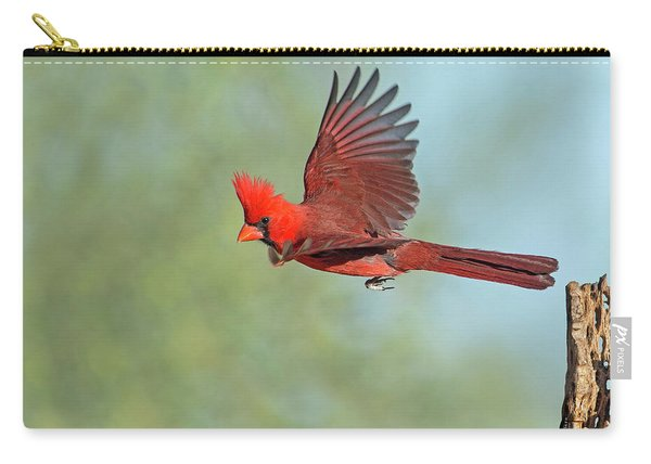 Cardinal On A Mission Carry-all Pouch