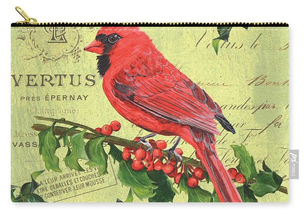 Cardinal Peace Carry-all Pouch