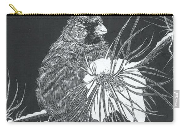 Cardinal Scratch Board Carry-all Pouch