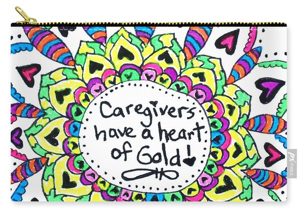 Caregiver Flower Carry-all Pouch