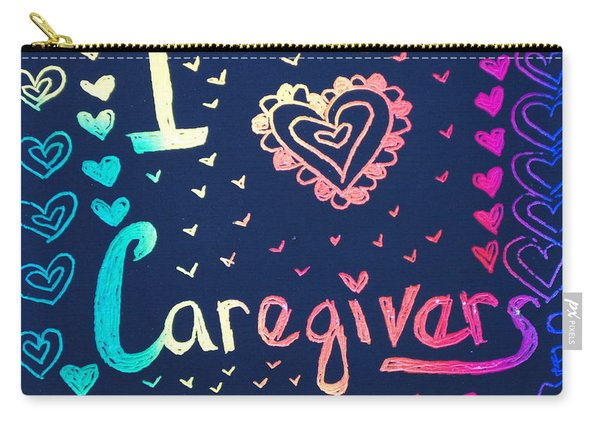 Caregiver Rainbow Carry-all Pouch
